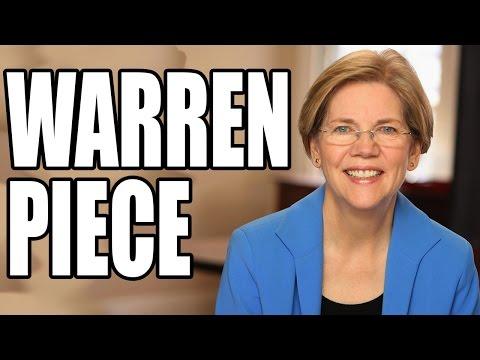 Sen. Elizabeth Warren Tell-All About Lawbreaking JPMorgan Chase CEO