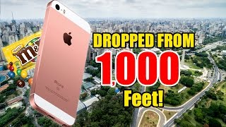 iPhone DROPPED from 1,000 FEET HIGH!! - m&m