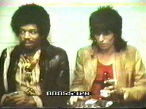 Jimi Hendrix with the Rolling Stones  / Rocks Off Message Board - Thanks Albert Maysles!