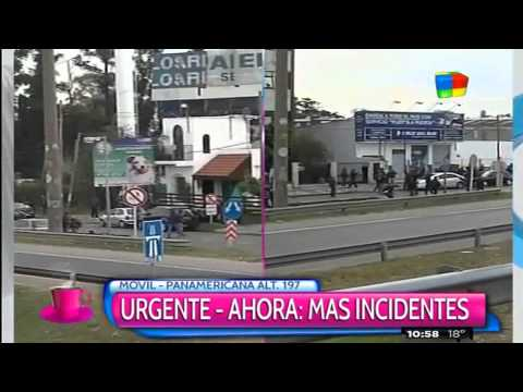 Graves incidentes en la Panamericana