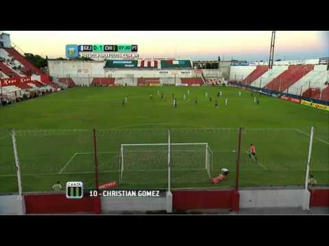 Gol de Gómez. Gimnasia 0- Chicago 1.Triangular.Torneo Primera B Nacional.Fútbol Para Todos