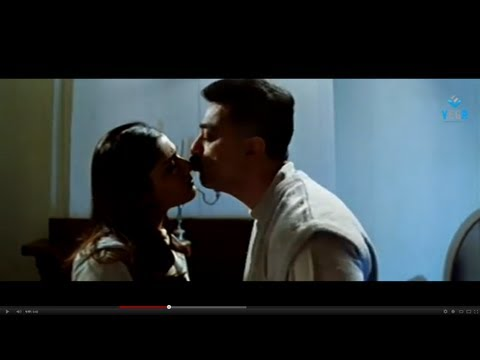 Kamal Hassan Kissing Raveena Tandon - Abhay video