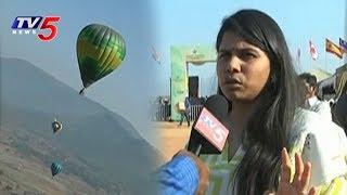 TDP Minister Bhuma Akhila Priya Participates in Hot Air Balloon Festival, Araku