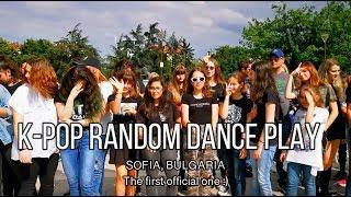 The FIRST K-POP Random Dance play [SOFIA, BULGARIA]