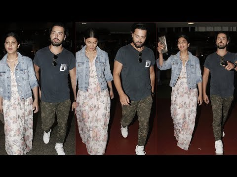 Shruti Hassan With Boyfriend Spotted At Mumbai Airport
