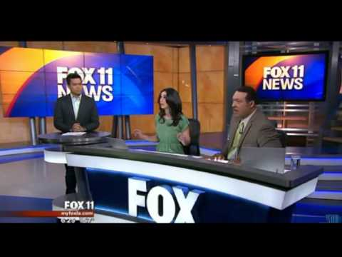 KTTV News Anchors React To Los Angeles Earthquake Of 4.4 Magnitude