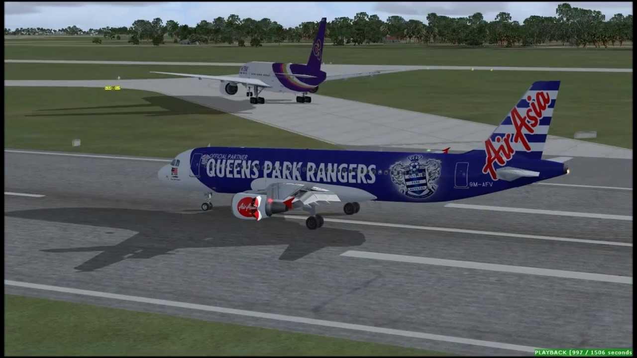 Airasia Fsx Fsx Airasia A320 Queens Park