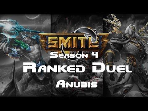 Smite - Ranked 1v1 Duel (Diamond 5) - Anubis Season 4