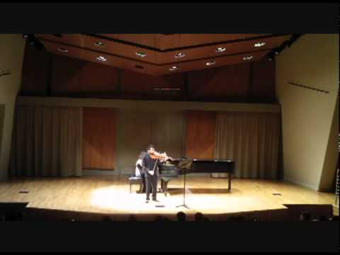 Born Lau and Vivian Fan - Brahms Eb Sonata 2nd Mov