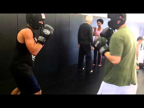 Boxing vs Tang Soo Do (round 3/4 hands only boxing training) at OC Open Martial Arts Image 1