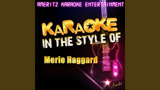 Natural High In The Style Of Merle Haggard Karaoke Version