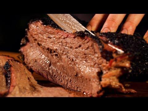 How to Smoke a Brisket on a Kamado Charcoal Grill   Primo Oval XL   BBQGuys.com