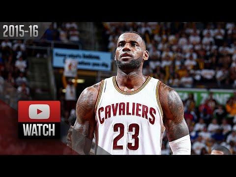 LeBron James Full Highlights vs Pistons 2016 Playoffs R1G1 - 22 Pts, 11 Ast