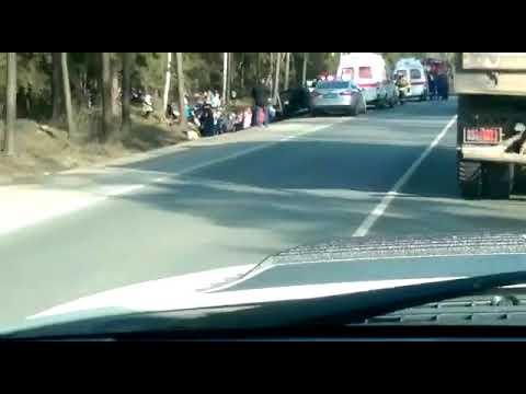Авария на трассе А107 в Подмосковье