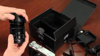 Fuji Guys - Fujifilm X-E1 Part 2/3 - Unboxing & Getting Started