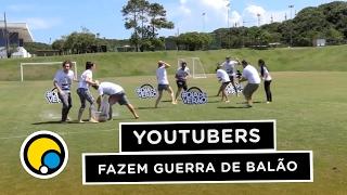 Guerra de balão dos youtubers #DiaDeVerao