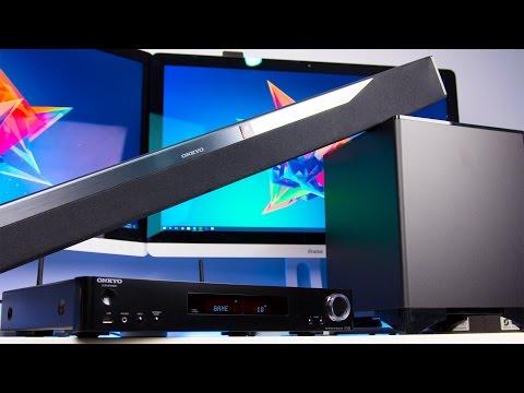Onkyo LS7200/SBT-A500 3D Soundbar System Review (4K)