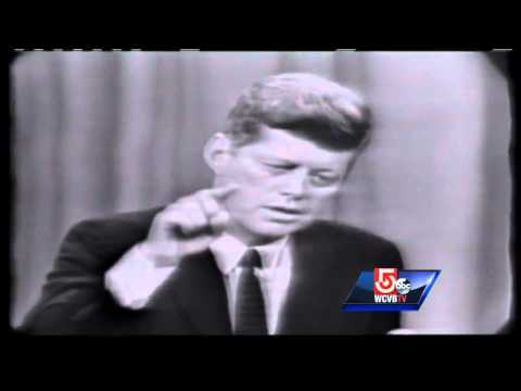 Boston pauses to honor JFK
