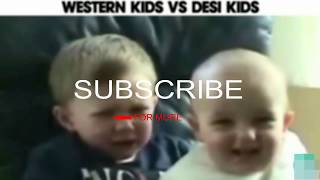 funny Foreign Kids Vs Indian Kids