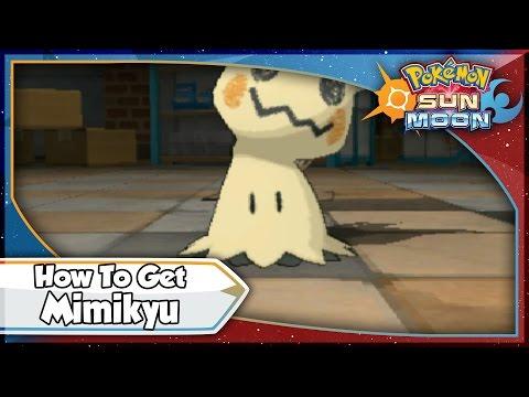 Pokemon Sun and Moon - How To Get Mimikyu! [SM Tips & Tricks]