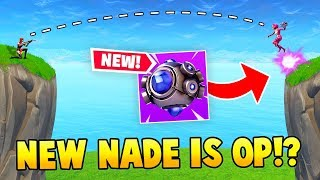 *NEW* SHOCKWAVE NADE IS OP!? (Fortnite FAILS & WINS #18)