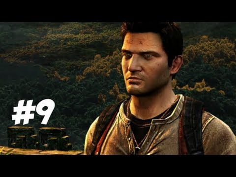 Uncharted Golden Abyss Playthrough Part 9 - Chapter 15 - Chimera to Ward off Evil (Puzzle)