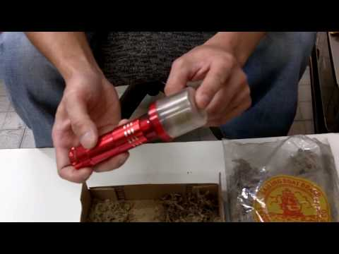 Partible Electric Automatic Herb Tobacco Spice Grinder