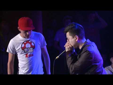 Beatbox Battle World Champs 2012 - Best 16 - Alem VS KRNFX