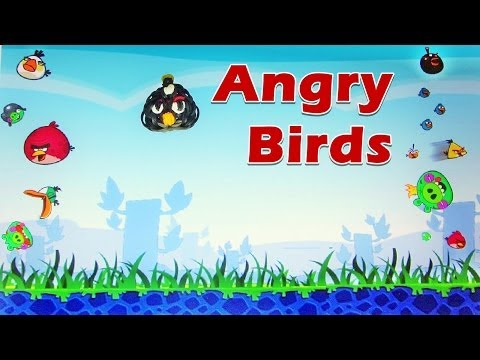 Rainbow Loom Angry Bird Charm (black Bomb) - How To Tutorial (diy Mommy) video