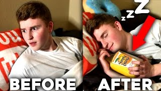 HOW TO FALL ASLEEP INSTANTLY ( 5 AMAZING LIFE HACKS )