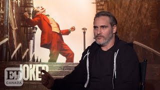 Joaquin Phoenix Talks Losing Weight For 'Joker'