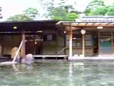 玉造温泉長楽園の大露天風呂