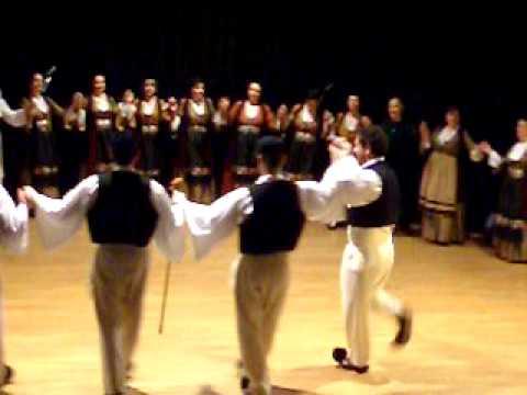 Γάιτα διπλή, παραδοσιακός Ηπειρώτικος χορός