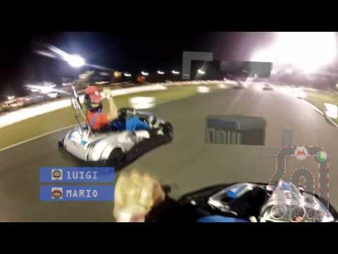 Mario Kart - Real Life Mario Vs Luigi
