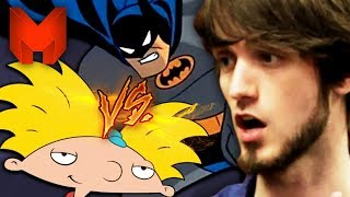 The BEST 90s Cartoons? Batman the Animated Series vs Hey Arnold - Madness