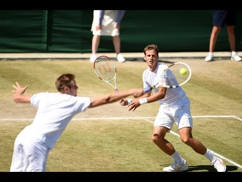 Highlights Day 11: Pospisil & Sock storm into the Wimbledon final