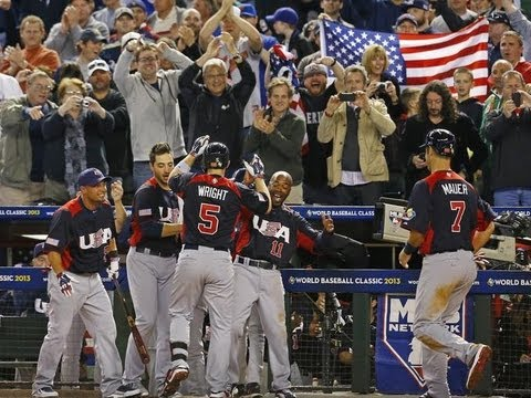 2013 USA World Baseball Classic Run