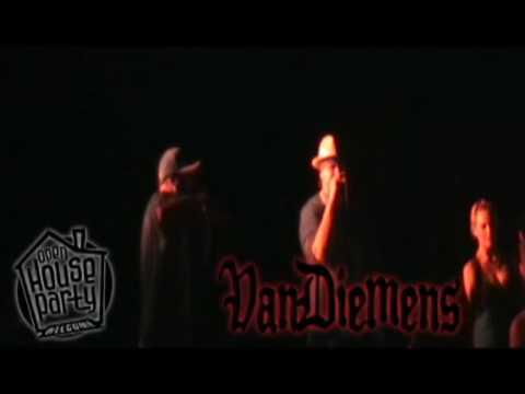 VANDIEMENS 'Children Of No Mans Land' LIVE