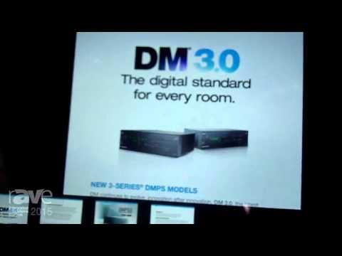 ISE 2015: Crestron Displays DMPS3-300-C 3-Series Presentation System