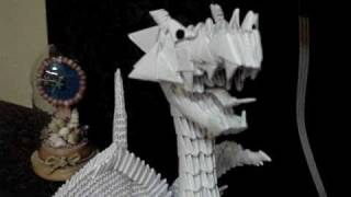 My 3d Modular Origami English Dragon With Wings