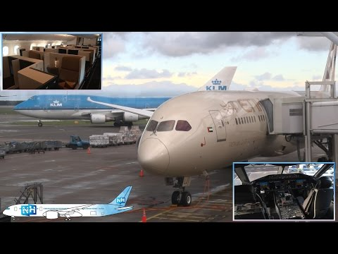 ETIHAD BOEING 787-9 DREAMLINER AIRCRAFT and CABIN REVIEW