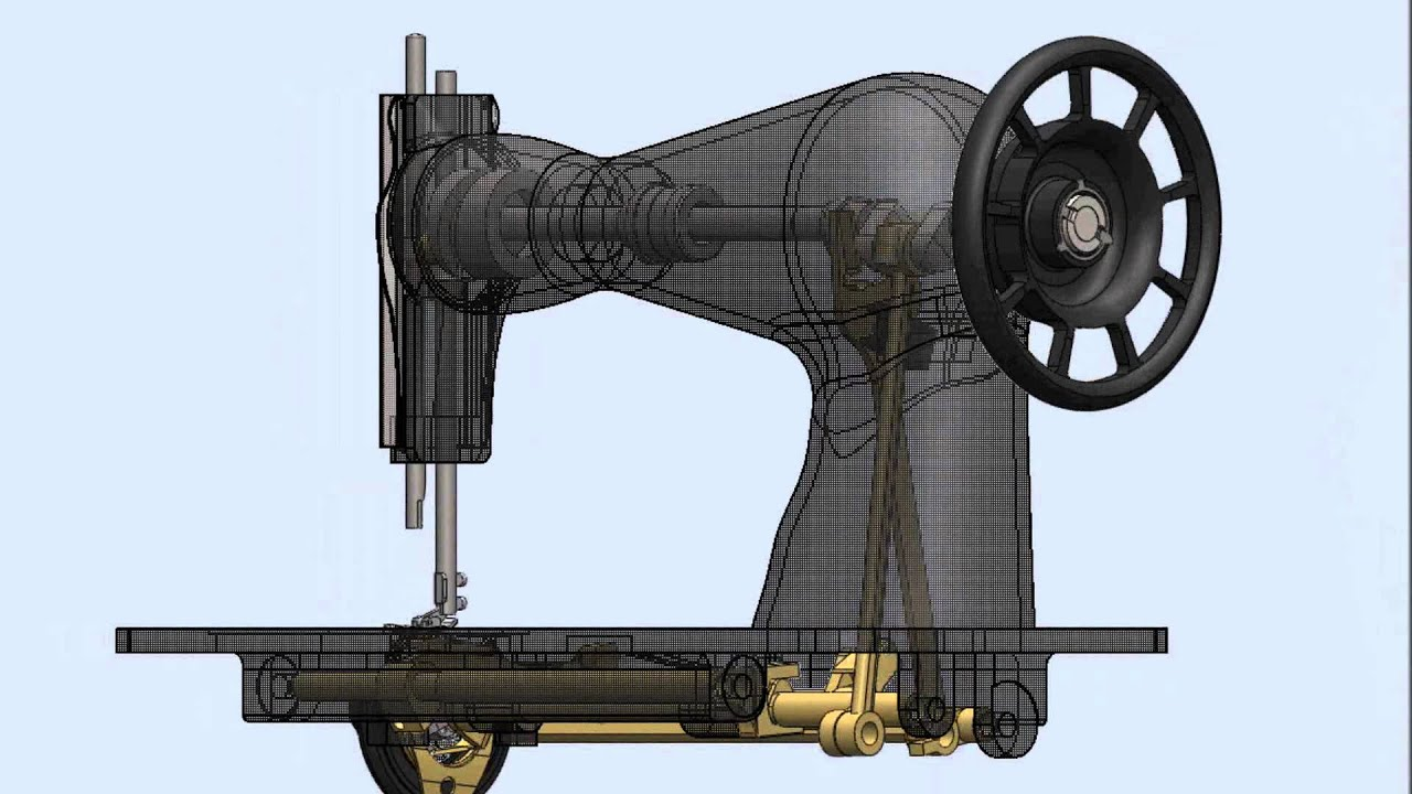 Máquina de Coser 3D - YouTube