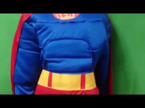 Disfraz Superman Musculoso Disfraz de Superman Musculoso