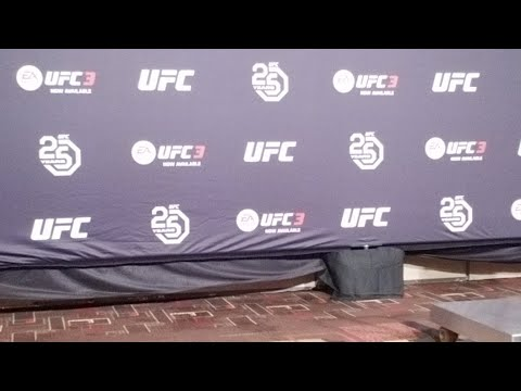 UFC ATLANTIC CITY Official Weigh Ins
