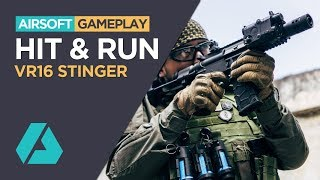 Hit & Run | VFC VR16 Stinger SB - Airsoft Gameplay Review