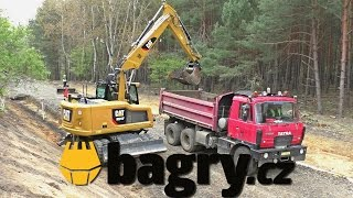 *JOBSITE* Cat M314F, Liebherr 918, Cat M314D, Tatra Terrno, Cat D4H