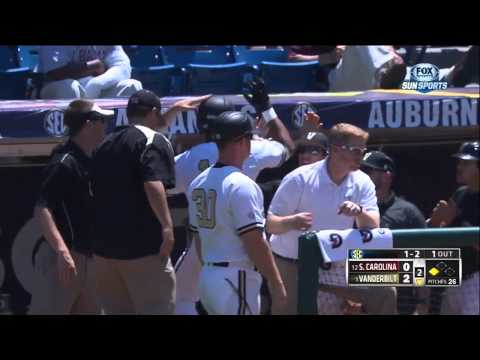 05/23/2013 South Carolina vs Vanderbilt Baseball Highlights