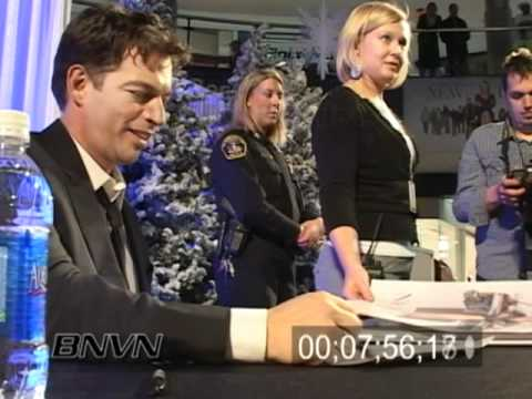 Harry Connick Jr. Autograph Signing and Red Carpet Movie Event Video