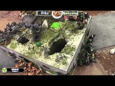 Necrons vs Orks Warhammer 40k Battle Report - Waaagh! Batrep Ep 15 - Part 5/5