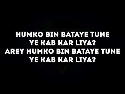 The BreakUp Song Lyrics – Ae Dil Hai Mushkil | Arijit Singh, Badshah